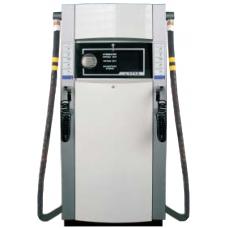 Двухпостовая установка 2УТЭД для нефтепродуктов вязкостью 6-60 и 60-300 сСт (масел), измерением по объёму и длиной рукава - 4 м.
