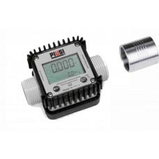 Счетчик PIUSI K24 алюминиевый бензиновый электронный (7-120 л/мин)