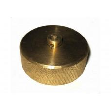 Крышка латунная для замерного устройства УЗ-50