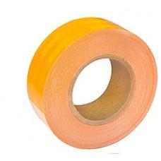 Лента светоотражающая желтая 50 мм