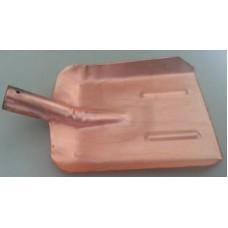 Лопата совковая обмеднённая без черенка