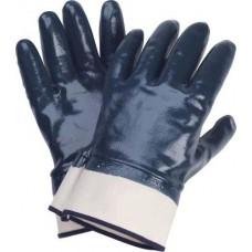 Перчатки х/б нитрил,на краге