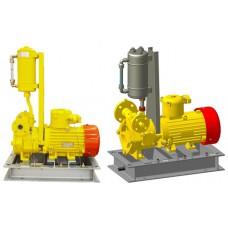 """Электронасос моноблочный КМВГ 40-25-150Е с двойным торцевым уплотнением и системой охлаждения сосуд-бачек для перекачивания сжиженных газов, аналог насоса FD150 фирмы """"Corken"""""""